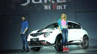 New Nissan Juke diluncurkan PT Nissan Motor Indonesia (NMI) di SCBD Jakarta, Kamis (12/2/2015). (Lipuatan6.com/Panji Diksana)