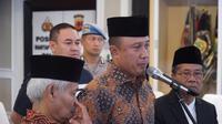 Kapolda Jabar Inspektur Jenderal Agung Budi Maryoto berkomitmen lindungi semua rumah ibadah. (Huyogo Simbolon)