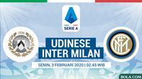 Serie A - Udinese Vs Inter Milan (Bola.com/Adreanus Titus)