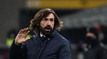 Ekspresi Andrea Pirlo Usai Bungkam AC Milan