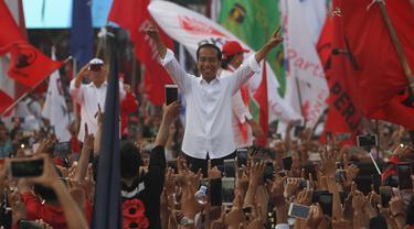 Jokowi Saat Kampanye Pilpres