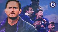Chelsea - Frank Lampard dan Pemain Bintang Chelsea (Bola.com/Adreanus Titus)