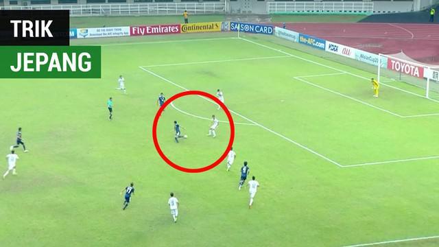 Berita video trik pemain Jepang U-19 saat menghadapi Irak U-19 yang mungkin perlu diwaspadai Timnas Indonesia U-19 saat bertemu pada perempat final Piala AFC U-19 2018.