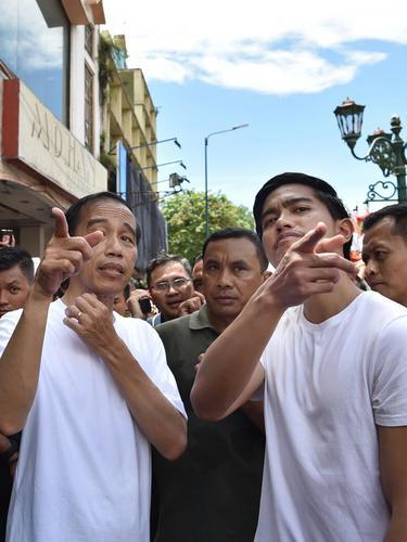 Jokowi Blusukan ke Malioboro