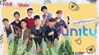 UN1TY terlibat dalam original series Perfect Love yang tayang di Vidio, Jumat (20/11/2020). (Sumber: Vidio)
