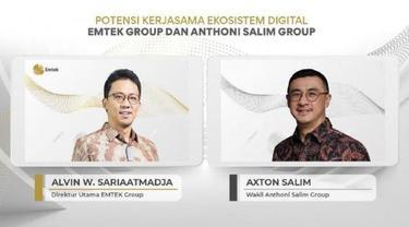 PT Elang Mahkota Teknologi (Emtek Group) jajaki kerjasama  ekosistem digital dengan Anthoni Salim Group. Peluang kerja sama ekosistem ini diharapkan dapat menciptakan sinergi dan pertumbuhan bagi kedua grup.