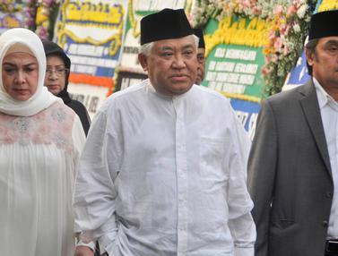 Ani Yudhoyono Wafat, Tokoh Tanah Air Melayat ke Rumah SBY