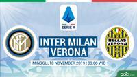 Serie A - Inter Milan Vs Hellas Verona (Bola.com/Adreanus Titus)