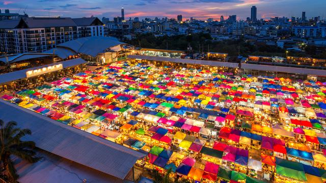 Night Market di Thailand