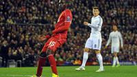 Balotelli terus mendapatkan kecaman akibat belum juga tajam di Liverpool (PAUL ELLIS / AFP)