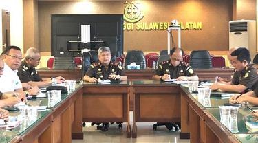 Kajati Sulsel imbau para jaksa di Sulsel netral dalam pilkada (Liputan6.com/ Eka Hakim)