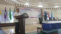 Sekjen PMI Sudirman Said  Seminar dan Rapat Kerja Komite Palang Merah Internasional (The International Committee of Red Cross/ICRC) di Ambon, Maluku. (Istimewa)