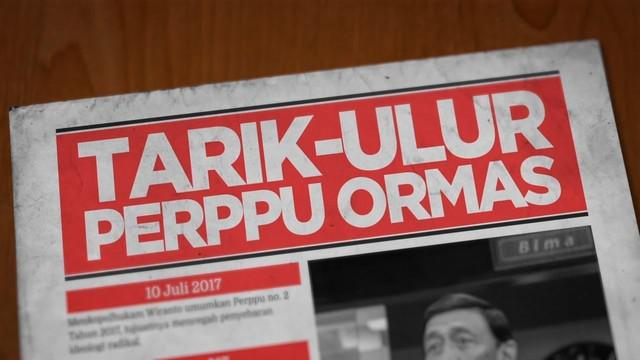 Perppu Ormas disahkan DPR menjadi undang-undang. Sebelumnya, Perppu ini menimbulkan berbagai reaksi masyarakat.