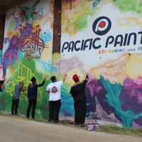 Festival Religi di Pondok Pesantren Sirnarasa bersama Pacific Paint