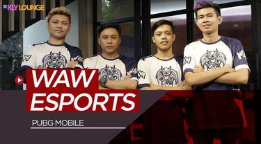 Berita video wawancara di KLY Lounge kali ini bersama tim E-Sports WAW divisi PUBG mobile yang digagas oleh salah satu youtuber ternama di Indonesia, Reza Arap.