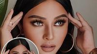 Wajah Mutia Ayu dinilai mirip aktris Bollywood, Aishwarya Rai usai mengunggah potret Oplas Challenge (Dok.Instagram/@muatia_ayuu/https://www.instagram.com/p/CA0O_BrHZo8/Komarudin)