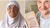 Nenek berusia 85 tahun ini mualaf karena suka dengar suara azan. (Sumber: borakdaily)