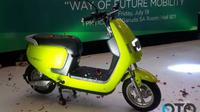 Sepeda motor listrik ECGO 2. (Oto.com)