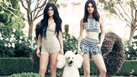Kylie dan Kendall Jenner [twistmagazine]