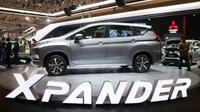 Mitsubishi Xpander akhirnya resmi diluncurkan di GIIAS 2017. (Herdi Muhardi)