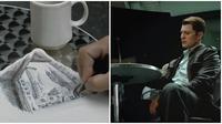 Adegan saat Steve Rogers memgambar gedung dalam The Avengers 2012 (Sumber: YouTube/filmisnowextra)