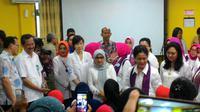 Ibu Negara Iriana Joko Widodo berkeliling puskesmas di 5 wilayah di Jakarta.
