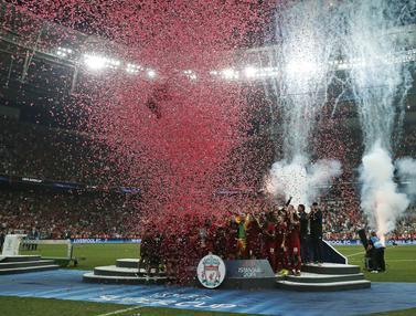 Kalahkan Chelsea, Liverpool Juara Piala Super Eropa 2019