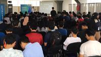 NMAA Goes to Campus 2019 dihadiri ratusan mahasiswa Binus. (ist)
