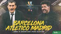 Piala Super Spanyol - Barcelona Vs Atletico Madrid (Bola.com/Adreanus Titus)