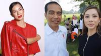 Jennifer Bachdim dan Jokowi © Istimewa