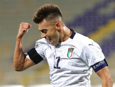 Italia Pesta Gol ke Gawang Moldova