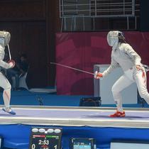 PB Ikasi telah mempersiapkan segala fasilitas serta memepersiapkan arena pertandingan cabang olahraga Anggar di Asian Games 2018. (Liputan6.com/Cakrayuri)