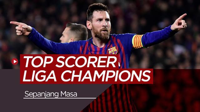 Calon Top Scorer Liga Champions Sepanjang Masa. (Bola.com/Dody Iryawan)