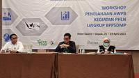 Workshop Penelaahan AWPB Kegiatan PHLN yang digelar Kementan di Depok, Jawa Barat, Rabu (21/4/2021). (Ist)