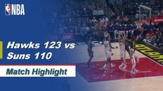 Berita Video Highlights NBA 2019-2020, Atlanta Hawk Vs Phoenix Suns 123-110