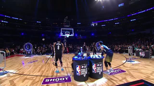 Berita video cuplikan NBA Taco Bell Skill Challenge 2018.