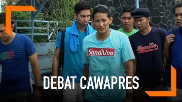 Sandiaga Uno mulai mempersiapkan diri jelang Debat Cawapres. Ia akan mengajukan ide perbaikan BPJS dalam debat dengan Ma'ruf Amin nanti.