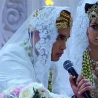 Nia Ramadhani dan Ardi Bakrie saat akad nikah (Instagram/@ramadhaniabakrie)