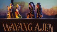 Lakon Kesatria Darma Sakti yang biasa dimainkan Wawan sarat dengan pesan potensi dan kekayaan alam maupun seni budaya.