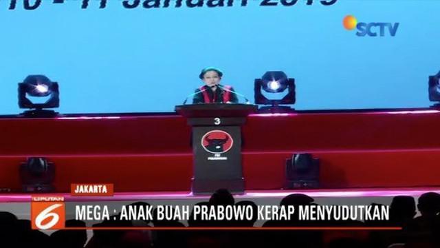 Ketua Umum PDIP Megawati Soekarnoputri heran jajaran Prabowo kerap sebar hoaks. Padahal Mega dan Prabowo terbilang akrab.