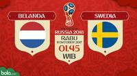 Kualifikasi Piala Dunia 2018 Belanda Vs Swedia (Bola.com/Adreanus Titus)