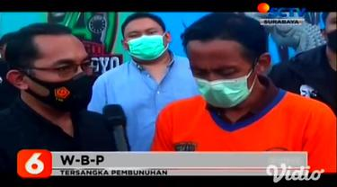 Tersangka pembunuh anak kecil 12 tahun diringkus di kamar kos lokasi persembunyiannya Tangerang Selatan, Banten. Saat penyergapan, pelaku sempat melawan polisi, hingga akhirnya ditembak polisi pada bagian kaki.