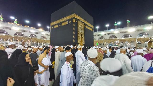 Jemaah Haji Melaksanakan Thawaf di Kakbah. Foto: Bahauddin/MCH
