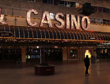 Kasino di Las Vegas Tutup Akibat Pandemi Virus Corona COVID-19
