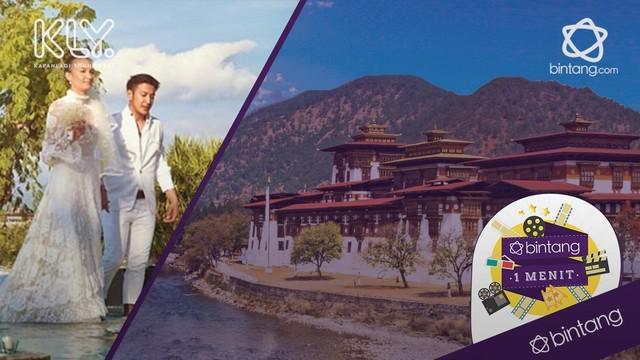 Negara Bhutan mendadak jadi sorotan setelah jadi tempat pernikahan Nadine dan Dimas.