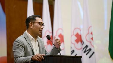 Tingkatkan Pelayanan Kesehatan Ridwan Kamil Minta PMI Jabar Aplikasikan Telemedicine