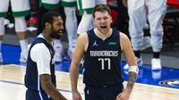 Luka Doncic Menangkan Mavericks atas Celtics di laga NBA (AP)