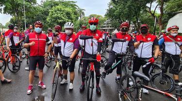 DPP PDIP Gelar Sepeda Santai.