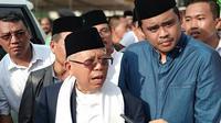 Ma'ruf Amin di Padang Lawas Utara, Sumatera Utara. (Liputan6.com/ Putu Merta Surya Putra)