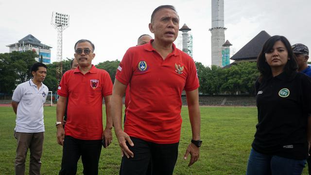 Ketua Umum PSSI Iwan Bule